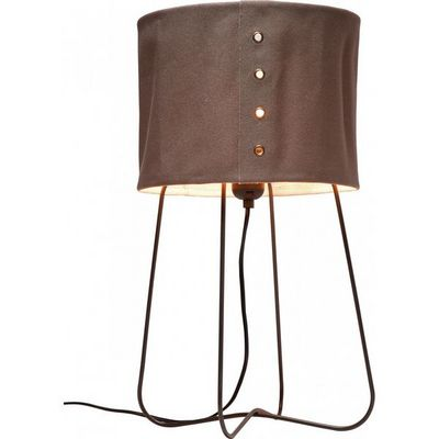 Kare Design - Lampe à poser-Kare Design-Lampe de Table Rivet marron