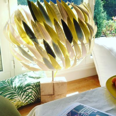 MILLIE BAUDEQUIN - Lampe à poser à LED-MILLIE BAUDEQUIN-Spica