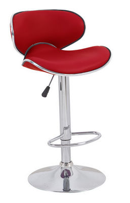 Cotton Wood - Chaise haute de bar-Cotton Wood-Tabouret de bar Leo Rouge