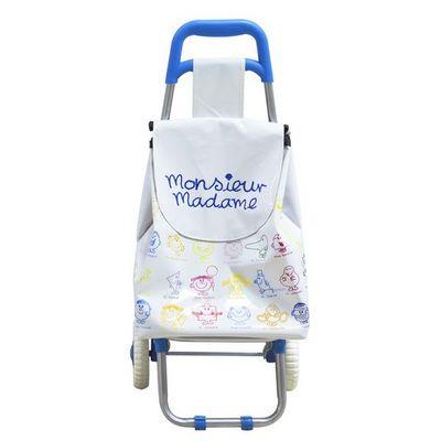 THE CONCEPT FACTORY - Chariot de marche-THE CONCEPT FACTORY-Chariot Monsieur Madame pour enfant Blanc & bleu