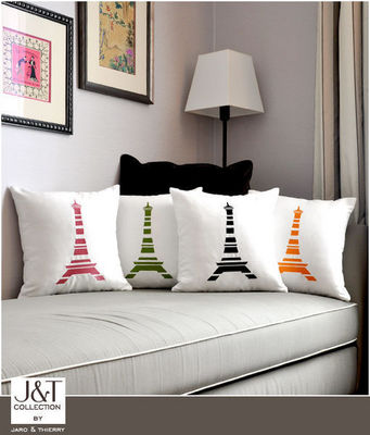 j&t collection - Housse de coussin-j&t collection-tour eiffel