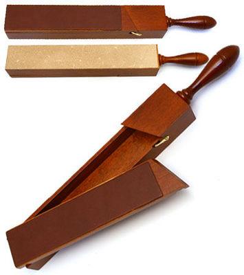 Laguiole Actiforge - Cuir � rasoir-Laguiole Actiforge-2 cuirs
