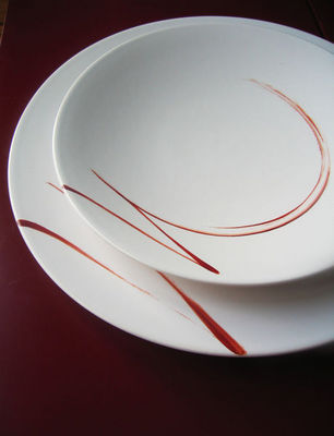 ISABELLE POUPINEL - Assiette creuse-ISABELLE POUPINEL