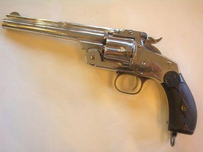 Aux Armes d'Antan - Pistolet et r�volver-Aux Armes d'Antan-Revolver SMITH & WESSON New Model N�3
