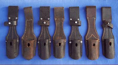 Cedric Rolly Armes Anciennes - Baïonnette et porte baïllonnette-Cedric Rolly Armes Anciennes-PORTES BAIONNETTES MAUSER WW1 ET WW2