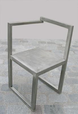 Lawrens - Fauteuil-Lawrens-fauteuil metal destructuré