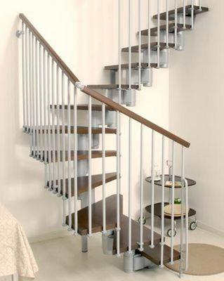 ARKE - Escalier deux quarts tournant-ARKE-Kompact