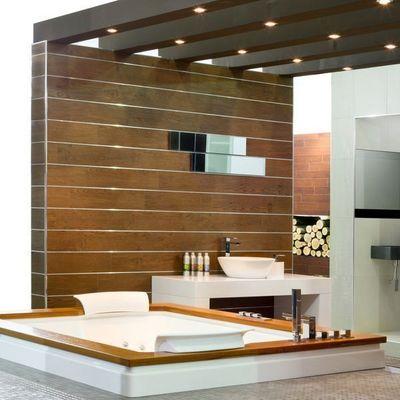 QUALIBAIN - Idées : salle de bains d'hôtel-QUALIBAIN