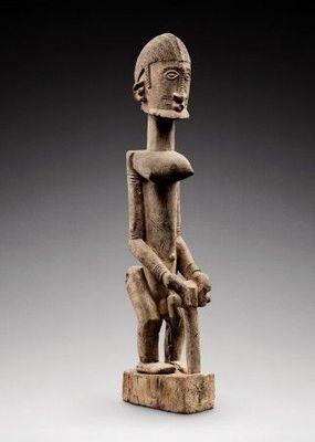 Galerie Frank Van Craen - Statuette-Galerie Frank Van Craen-Figure, Dogon