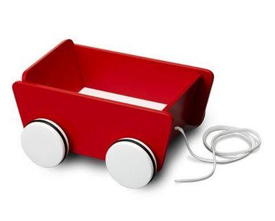 Micki Leksaker - Chariot à jouets-Micki Leksaker-Pull-along wagon