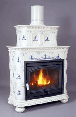 Ceramique Regnier - Poêle à bois-Ceramique Regnier-Genevieve