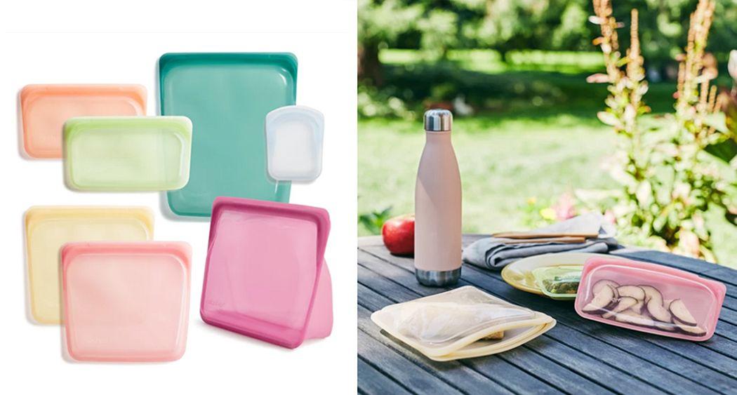 STASHER Reusable bag Packaging Beyond decoration   