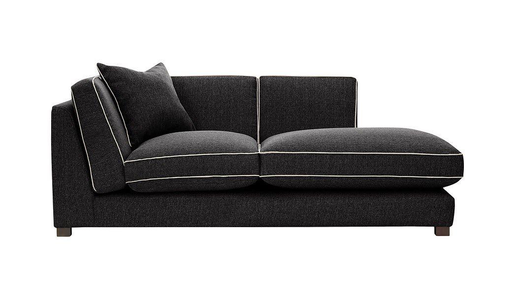 RODIER INTERIEURS Lounge sofa Méridienne' sofa Seats & Sofas  |