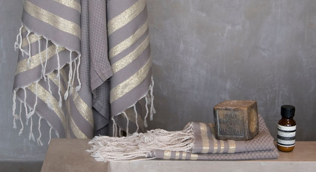 FEBRONIE Fouta Hammam towel Bathroom linen Household Linen  |
