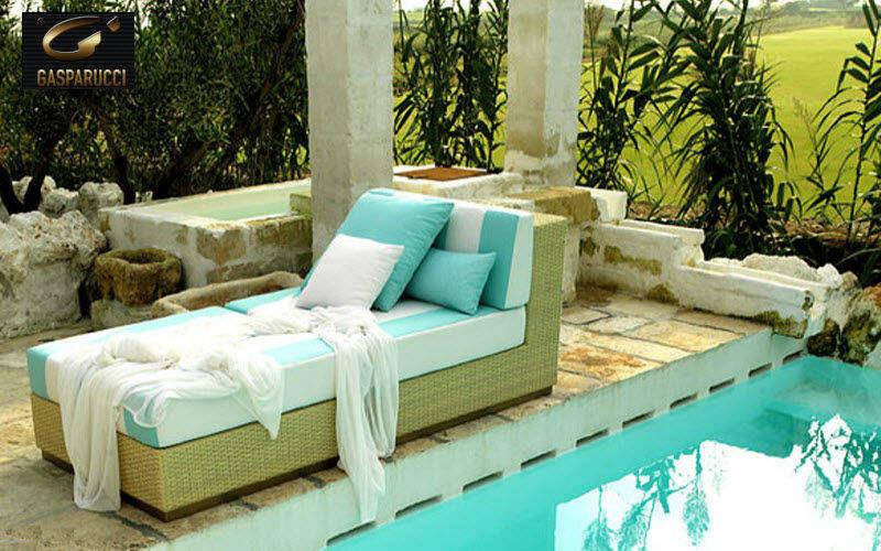 GASPARUCCI Sun lounger Garden chaises longues Garden Furniture Balcony-Terrace | Cottage