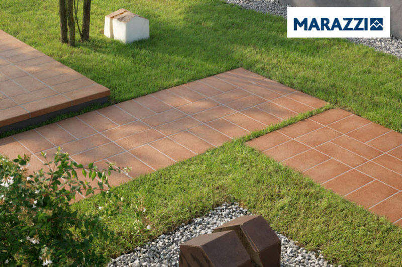 MARAZZI Floor tile Floor tiles Flooring Balcony-Terrace | Design Contemporary