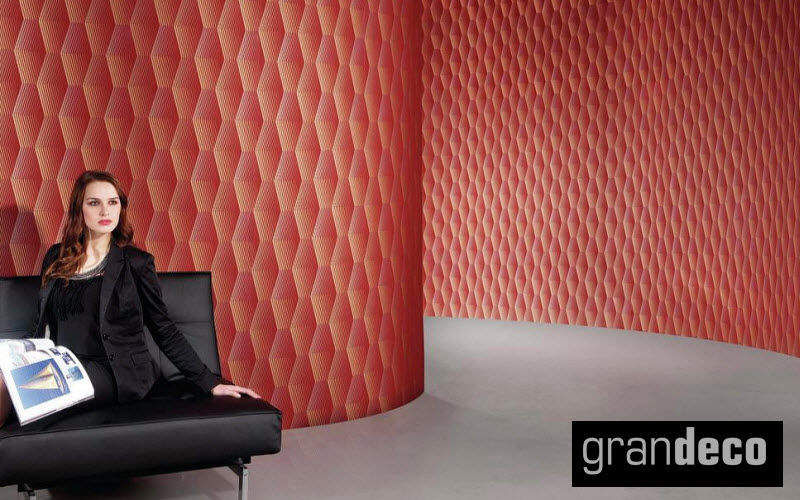 GRANDECO Wallpaper Wallpaper Walls & Ceilings Workplace | Eclectic