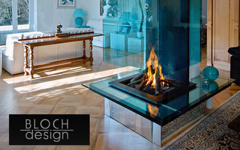 Bloch Design Central fireplace Fireplaces Fireplace  |