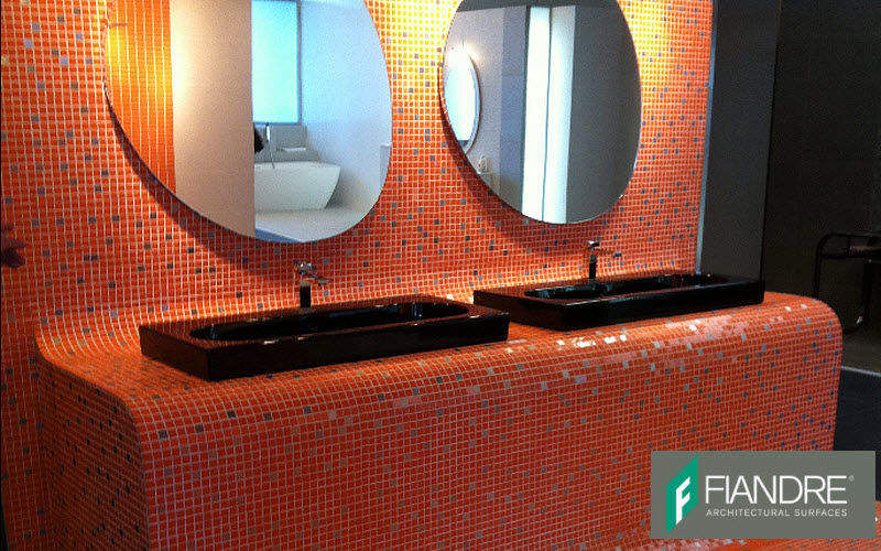 XTRA FIANDRE Mosaic tile wall Wall tiles Walls & Ceilings Bathroom | Eclectic