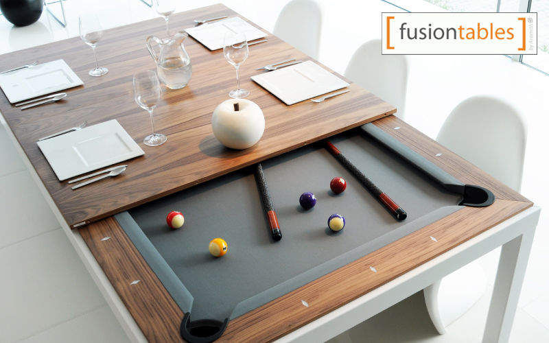 FUSIONTABLES Mixed billiard table Billiards Games and Toys Dining room | Design Contemporary