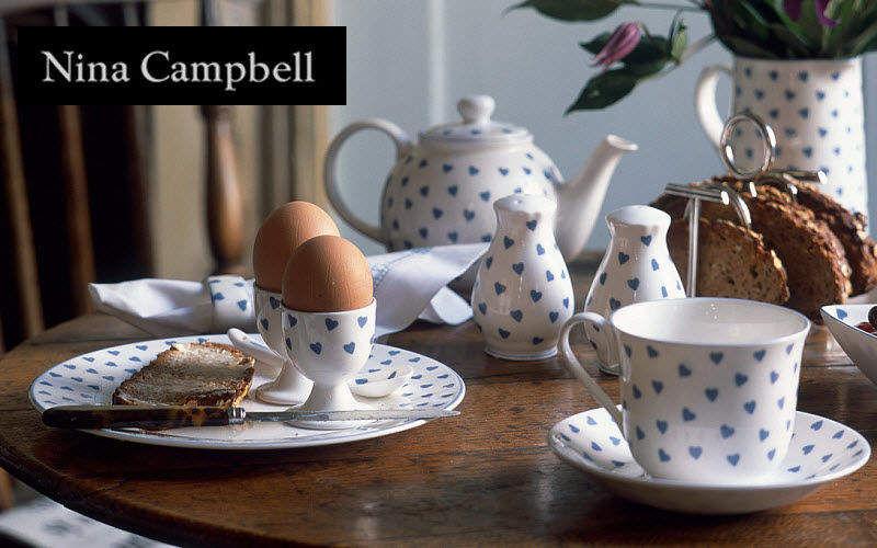 Nina Campbell Breakfast set Table sets Crockery Dining room | Cottage