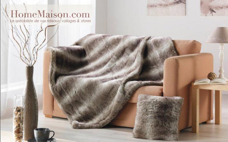 HOMEMAISON.COM Tartan rug Bedspreads and bed-blankets Household Linen  |