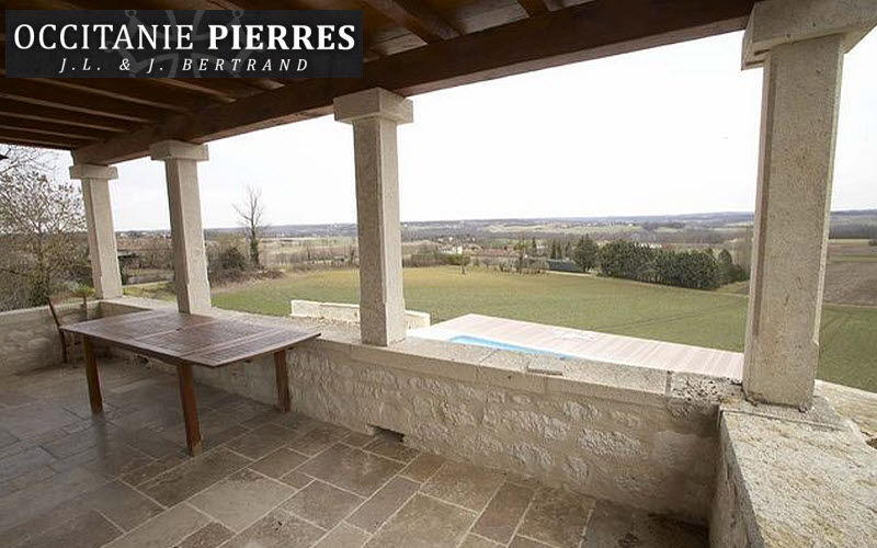 Occitanie Pierres Fence pillar Fences and borders Garden Gazebos Gates...  |