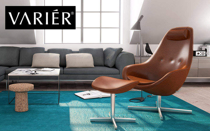 VARIER Armchair and floor cushion Armchairs Seats & Sofas  |