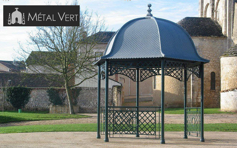 METAL VERT Gazebo Huts and gazebos Garden Gazebos Gates... Garden-Pool | Classic