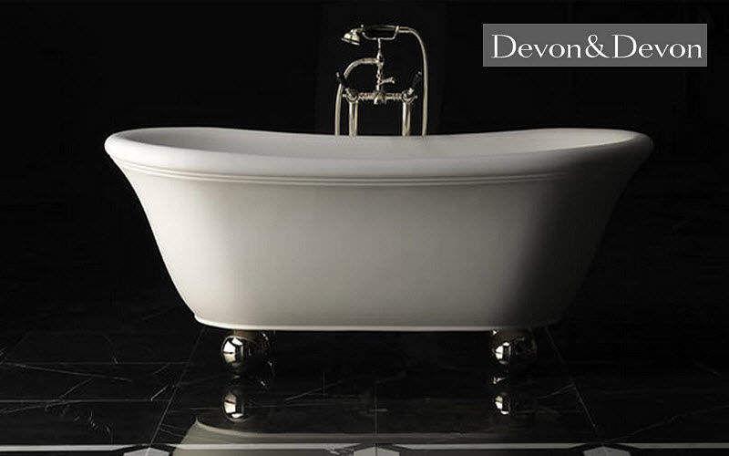 Devon & Devon Freestanding bathtub with feet Bathtubs Bathroom Accessories and Fixtures  |