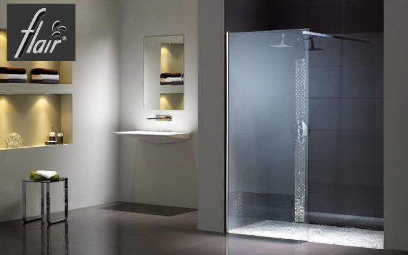 Flair Shower screen panel Showers & Accessoires Bathroom Accessories and Fixtures   