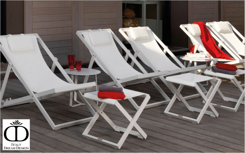 ITALY DREAM DESIGN Deck chair Garden chaises longues Garden Furniture  |