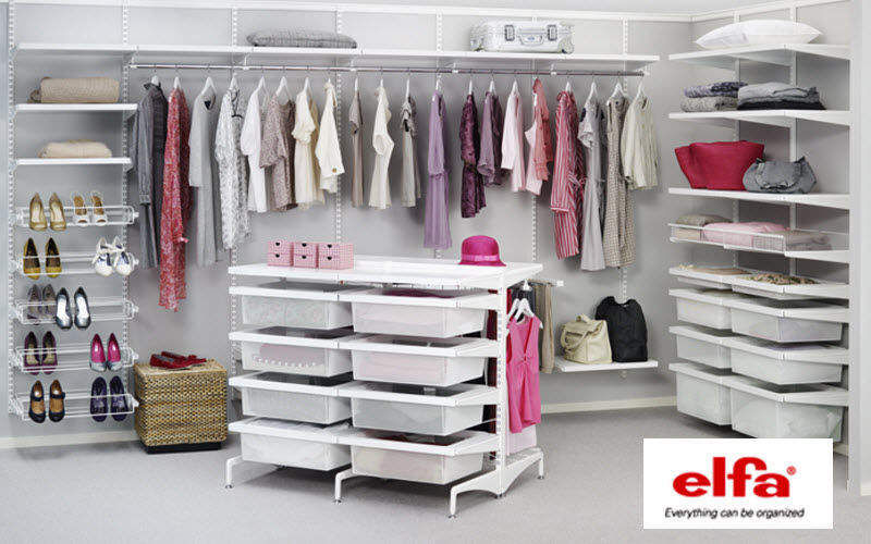 Elfa Hanging Storage panel Clothes racks Wardrobe and Accessories  |