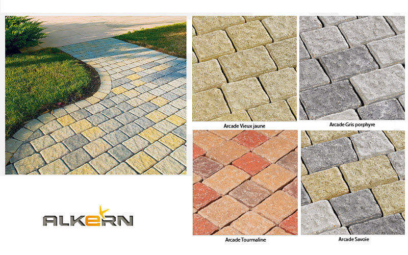 Alkern Outdoor paving stone Outside floors Flooring  |