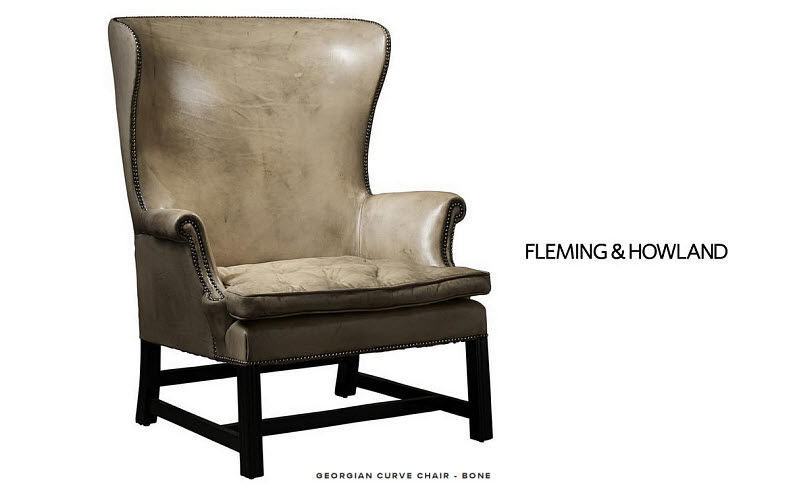 Fleming & Howland Armchair with headrest Armchairs Seats & Sofas  |