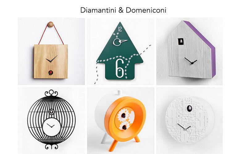 DIAMANTINI DOMENICONI Wall clock Clocks, Pendulum clocks, alarm clocks Decorative Items  |