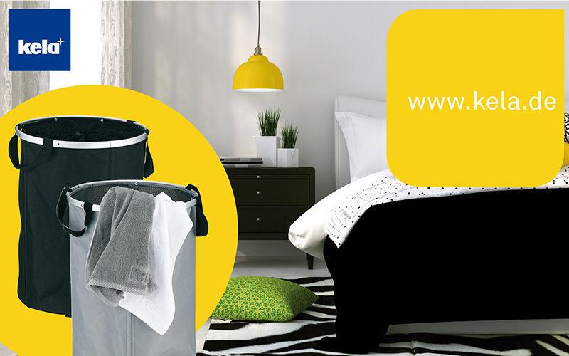 KELA  Laundry hamper Bathroom accessories Bathroom Accessories and Fixtures  |