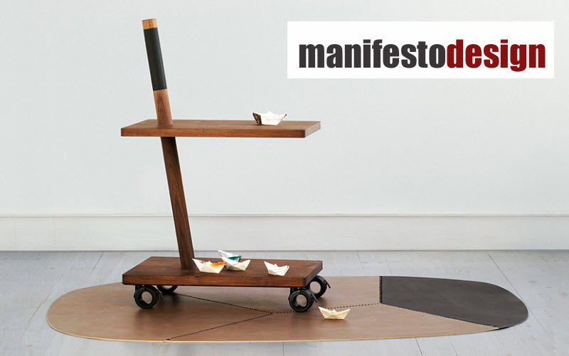 MANIFESTO Design Serving trolley Chariots and tables on wheels Tables and Misc.  | Eclectic