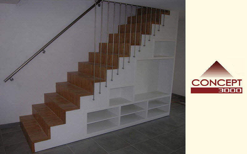 Concept 3000 Straight staircase Stairs and ladders House Equipment  |