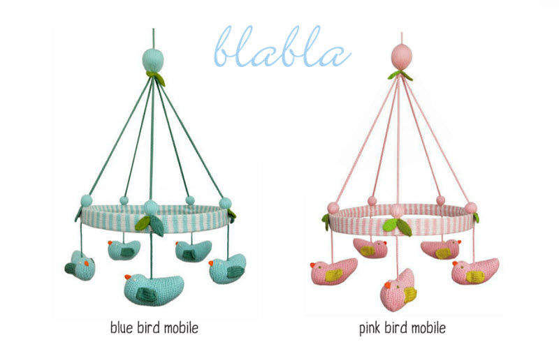 BLABLA Crib mobile Children's decoration Children's corner  |