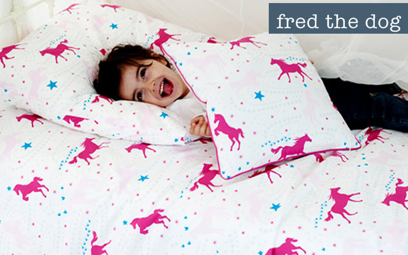 Fred the Dog Children's bed linen set Baby bed linen Children's corner  |