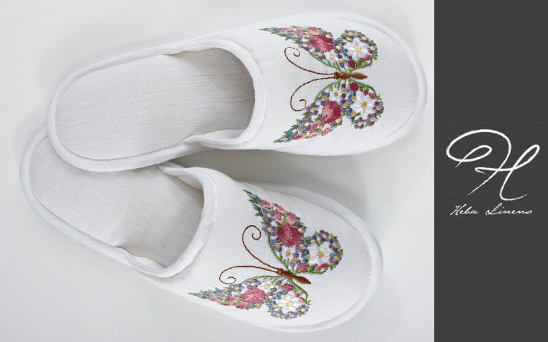 HEBA LINENS Mules Clothing Beyond decoration  |