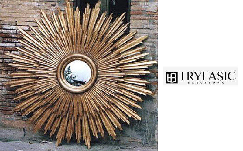 TRYFASIC Sunburst Mirror Mirrors Decorative Items  |