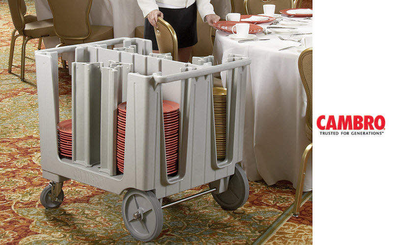 CAMBRO MANUFACTURING Multi-use serving trolley Various furniture Tables and Misc.   