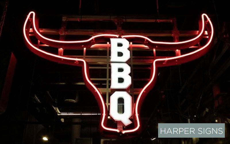 HARPER SIGNS Illuminated sign Signs Lighting : Outdoor   
