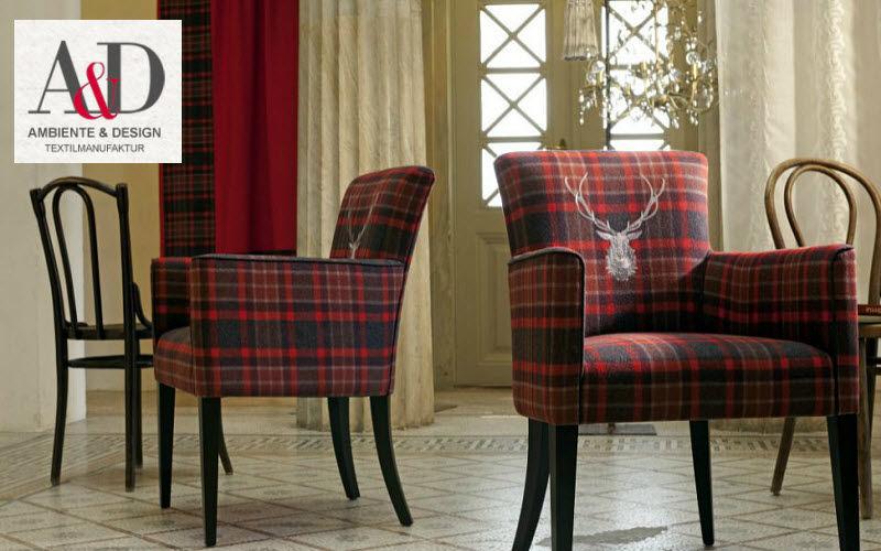 AMBIENTE & DESIGN Furniture fabric Furnishing fabrics Curtains Fabrics Trimmings   