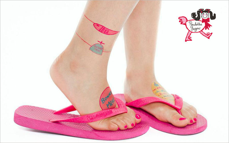 POULETTES BAZAR Temporary tattoo Disguises Games and Toys  |