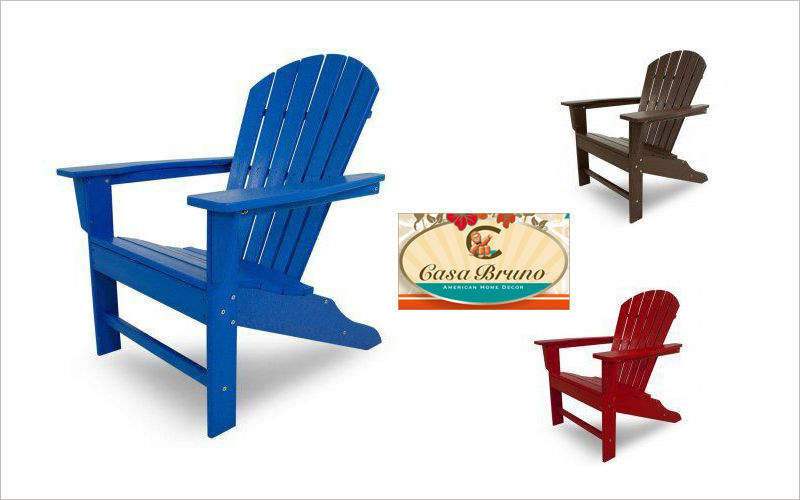 Casa Bruno Adirondack Outdoor armchairs Garden Furniture   