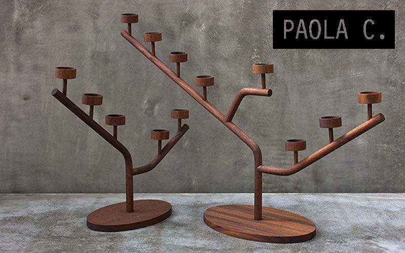 Paola C. Candelabra Candles and candle-holders Decorative Items  | Eclectic