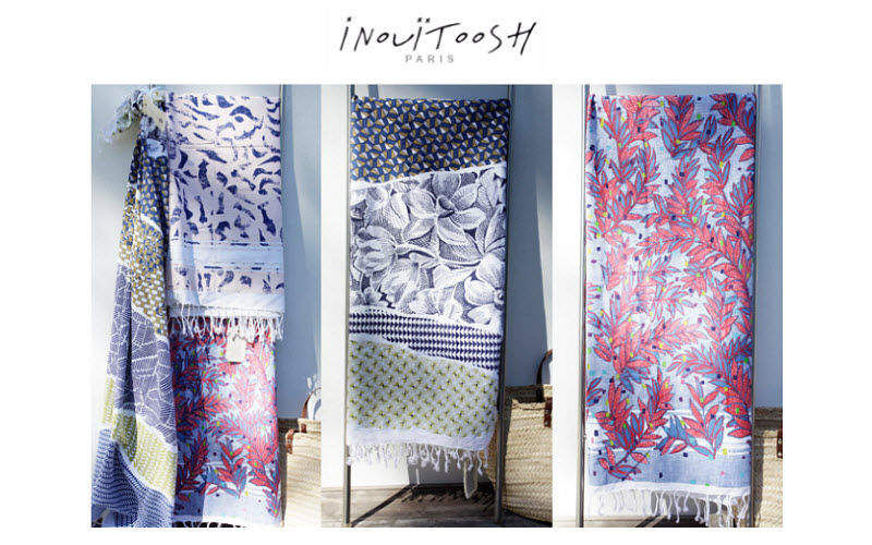 INOUITOOSH MAISON Fouta Hammam towel  Bathroom linen Household Linen  |